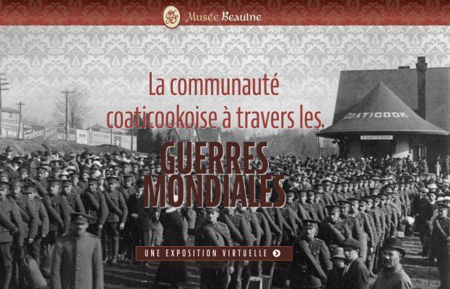 La communauté coaticookoise à travers les guerres mondiales